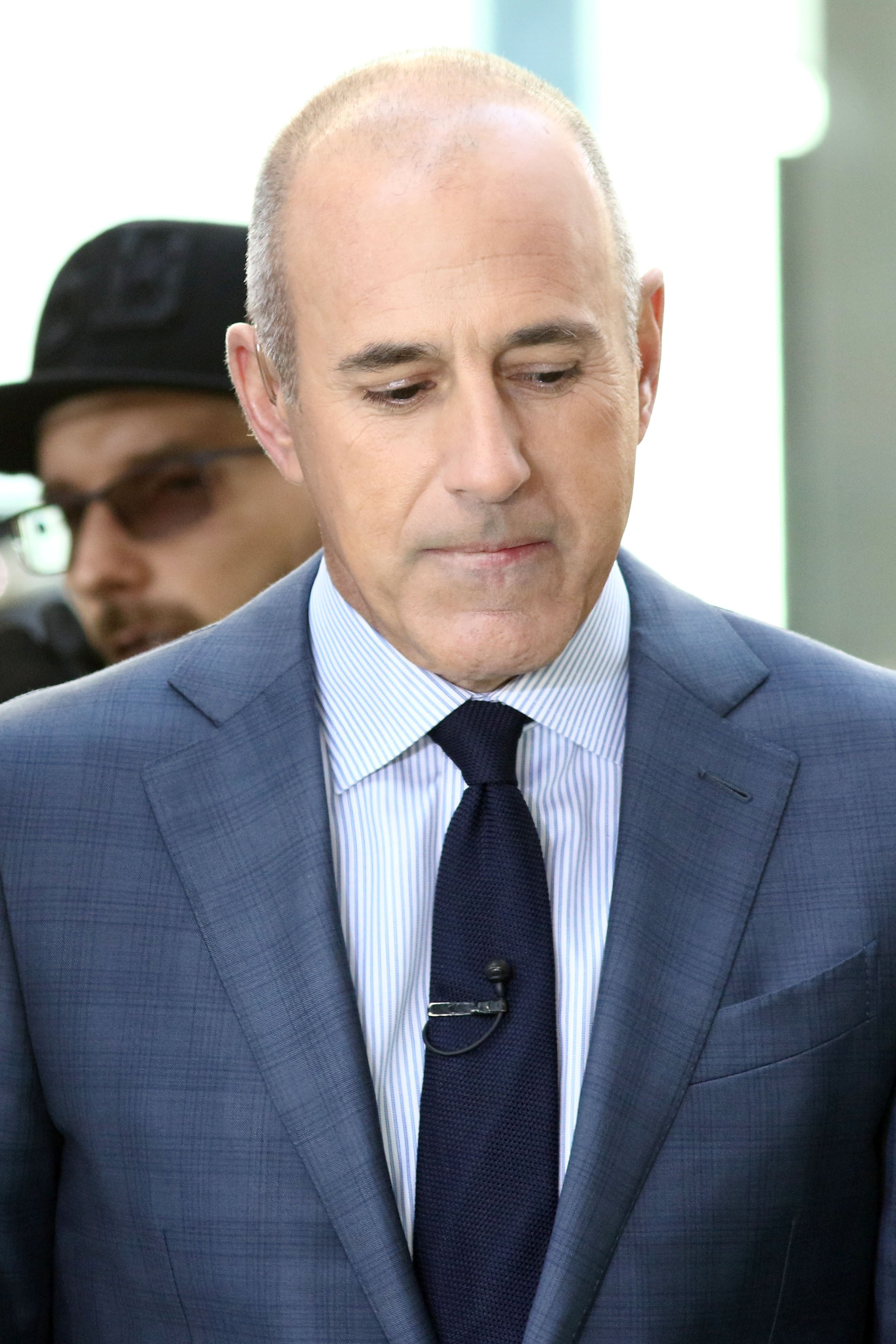 "Matt Lauer, former host of ""Today"" Show on NBC 