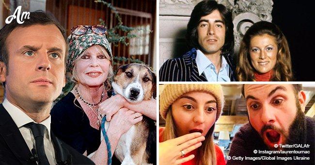 Laurent Ournac bientôt papa, Brigitte Bardot demande à Macron un 'miracle' de Noël, Sheila veut gifler son ex-mari: Top de la journée