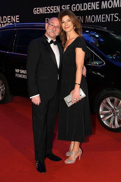 Horst Lichter und seine Frau Nada, Goldene Kamera 2017   Quelle: Getty Images