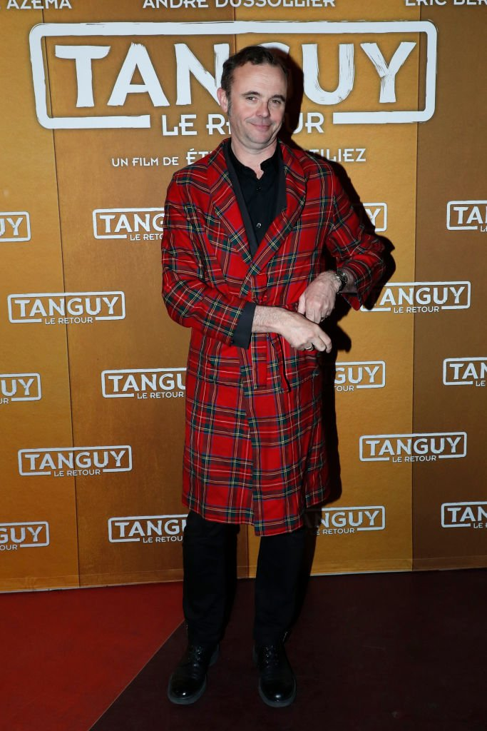 "Eric Berger assiste à la première de ""Tanguy le Retour"" Paris au Cinéma Gaumont Capucines le 09 avril 2019 à Paris, France. 