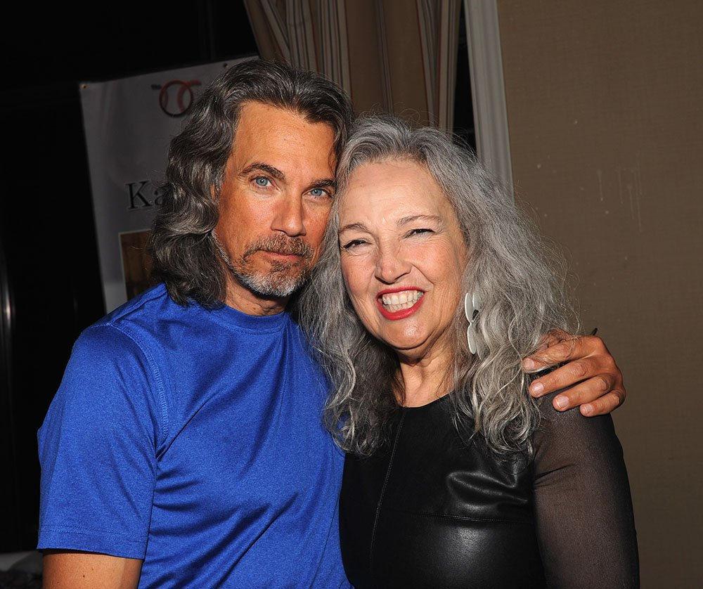 Robby Benson and his wife Karla DeVito attending the Chiller Theatre Expo at Sheraton Parsippany Hotel in Parsippany, New Jersey in October 2015.   Photo: Getty Images.