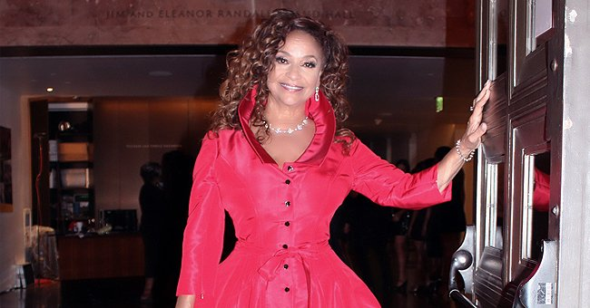 Check Out Debbie Allen's Regal Look in Red Dress and Curly Hair — She Looks Stunning