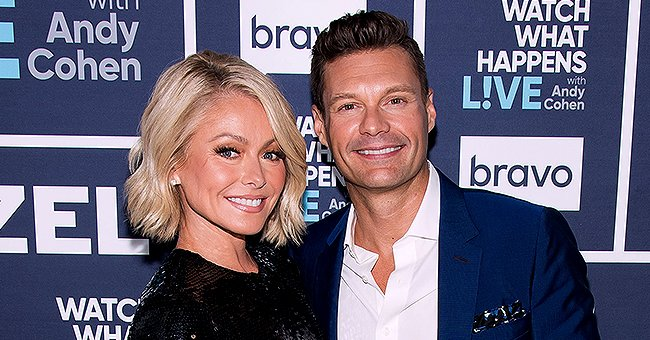 Ryan Seacrest Falls out of Chair While Trying to Catch Balloon on 'Live with Kelly and Ryan'