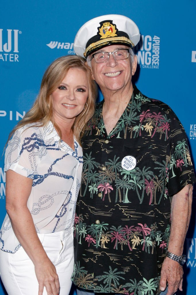 Jill Whelan and Gavin MacLeod attend Clayton Kershaw's 7th Annual Ping Pong 4 Purpose at Dodger Stadium on August 08, 2019 | Photo: GettyImages