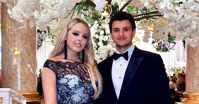 Tiffany Trump Flaunts Curves in Long Lacy Dress as She & Boyfriend Michael Boulos Strike a Pose in Recent Pic