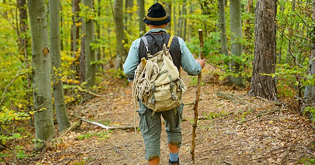 Daily Parable: An Old Man Was Taking a Walk in the Forest