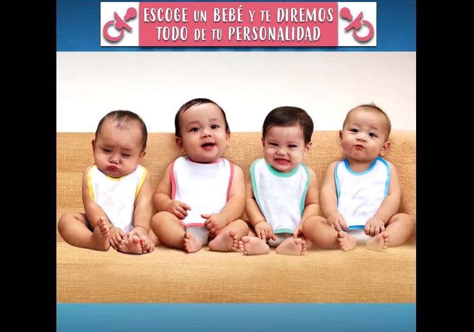¿Cuál de estos bebés es niña? Fuente: Facebook / Banaz Mx