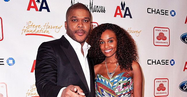 Tyler Perry's Girlfriend Gelila Bekele Dazzles in Embroidered Black Jacket with a Deep Neckline