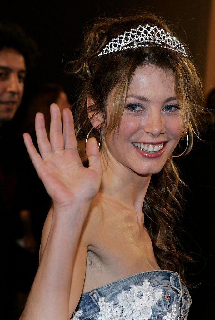 "L'actrice française Mallaury Nataf assiste à la projection de ""Free Zone"" au Palais lors du 58e Festival International du Film de Cannes le 19 mai 2005 à Cannes, France. 