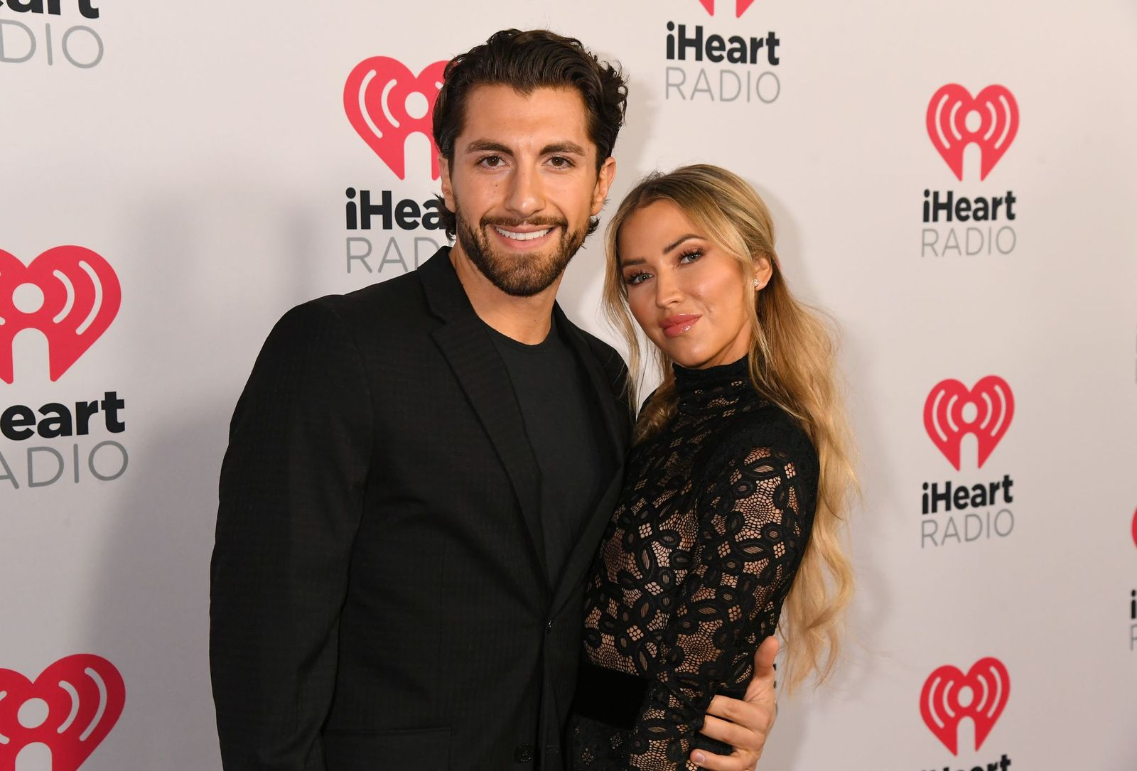Jason Tartick and Kaitlyn Bristowe at the 2020 iHeartRadio Podcast Awards in January 2020 in Burbank, California | Source: Getty Images