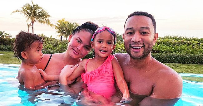 Chrissy Teigen & John Legend's Son Miles Sings Dad's New Song 'I Do' during Quarantine