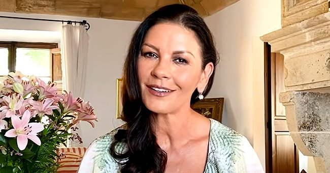 Catherine Zeta-Jones Jokes about Michael Douglas' Facial Hair in This Romantic Throwback Photo