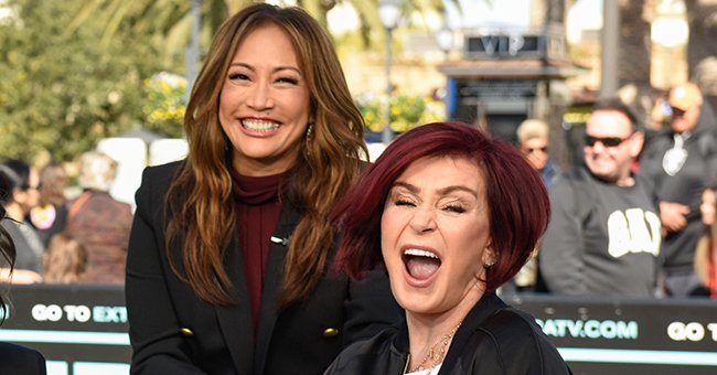 'The Talk' Co-Hosts Sharon Osbourne & Carrie Ann Inaba Discuss Their Experiences With COVID-19