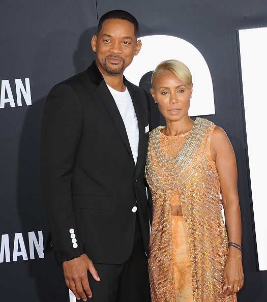 """Will Smith and Jada Pinkett Smith at the Premiere Of """"Gemini Man"""" on October 6, 2019 