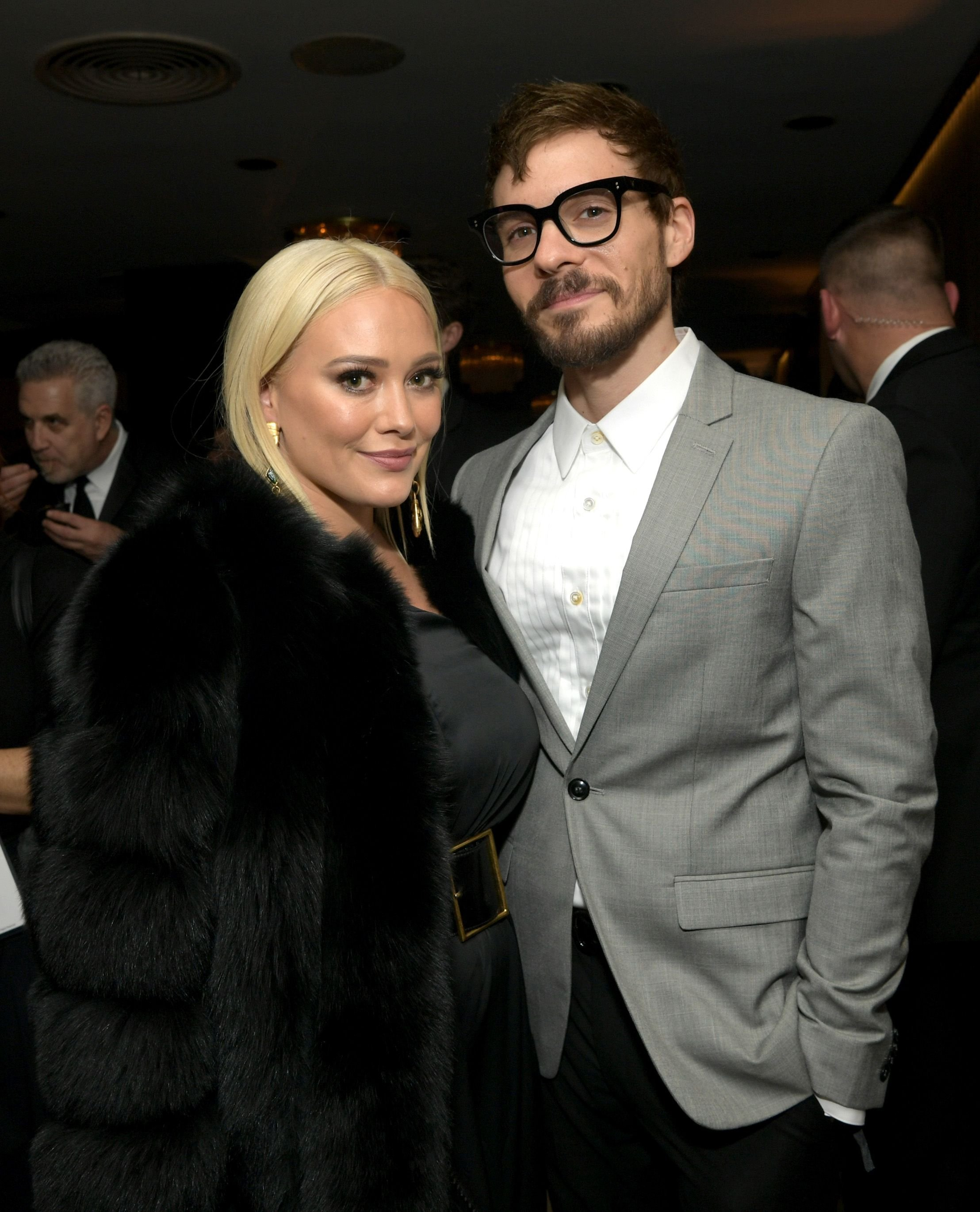 Hilary Duff and Matthew Koma at the Amazon Prime Video's Golden Globe Awards After Party at The Beverly Hilton Hotel in Beverly Hills, California | Photo: Emma McIntyre/Getty Images