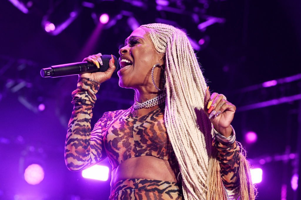 "Lil Mo performs onstage at STARZ Madison Square Garden ""Power"" Season 6 Red Carpet Premiere, Concert, and Party 