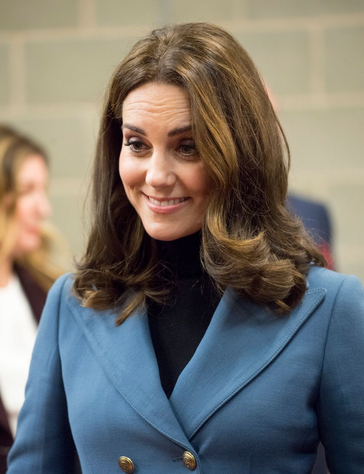 Kate Middleton assiste à la cérémonie de remise de diplômes de Coach Core pour plus de 150 apprentis Coach Core au Stade de Londres. | Photo : Getty Images