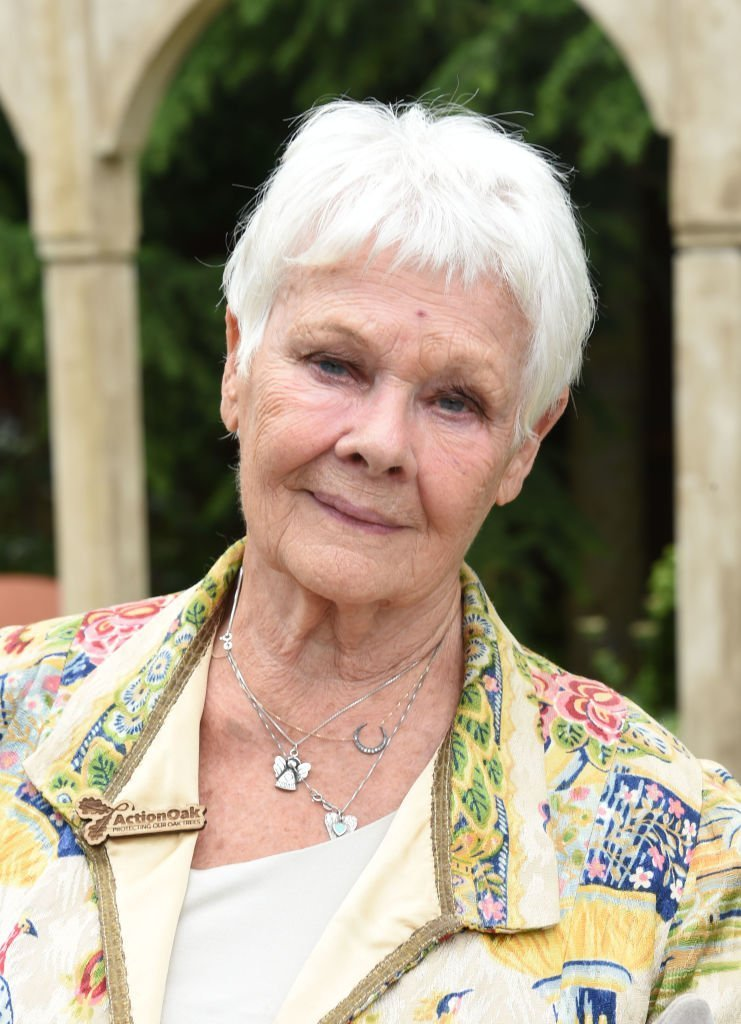 Dame Judy Dench attends the RHS Chelsea Flower Show 2019 press day | Getty Images