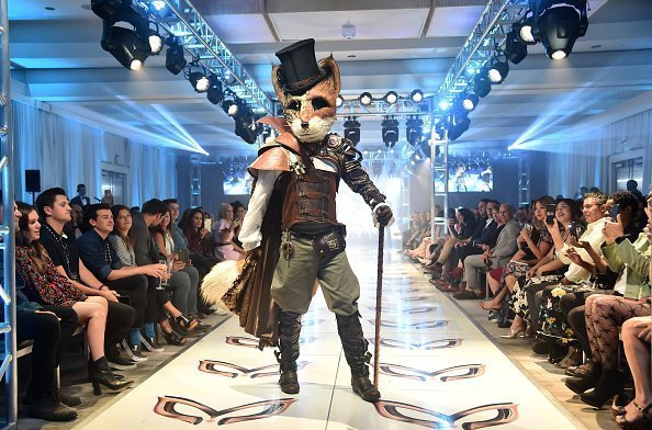 """The Fox"" participates in a runway show for the premiere of Fox's ""The Masked Singer"" Season 2 at The Bazaar at the SLS Hotel Beverly Hills on September 10, 2019 in Los Angeles, California 