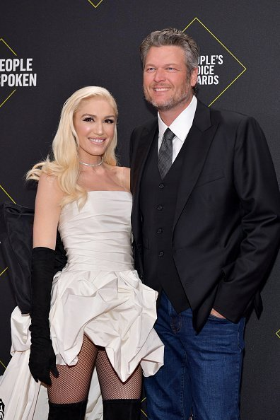 Gwen Stefani and Blake Shelton at the 2019 E! People's Choice Awards on November 10, 2019 | Photo: Getty Images