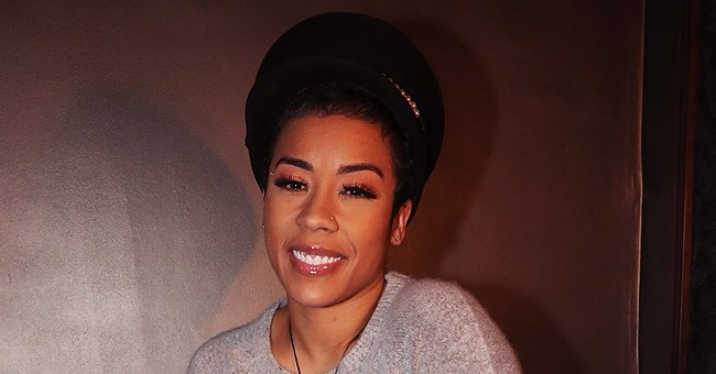 Keyshia Cole Melts Hearts with Adorable New Photos of Baby Son Tobias Playing the Little Piano