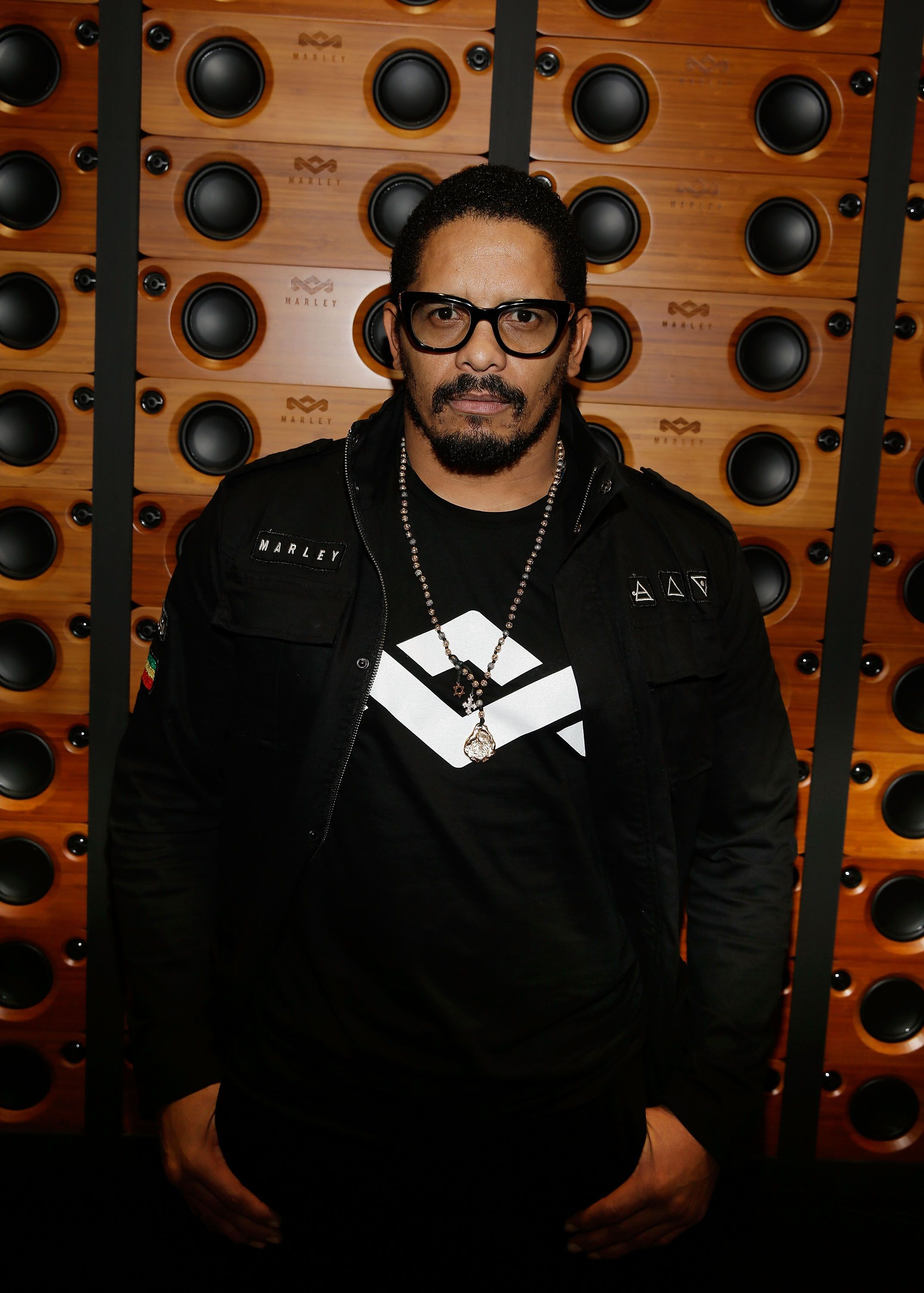 Rohan Marley at the House of Marley booth during the International Consumer Electronics Show at the Las Vegas Convention Center on January 6, 2015 in Las Vegas, Nevada   Photo: Getty Images
