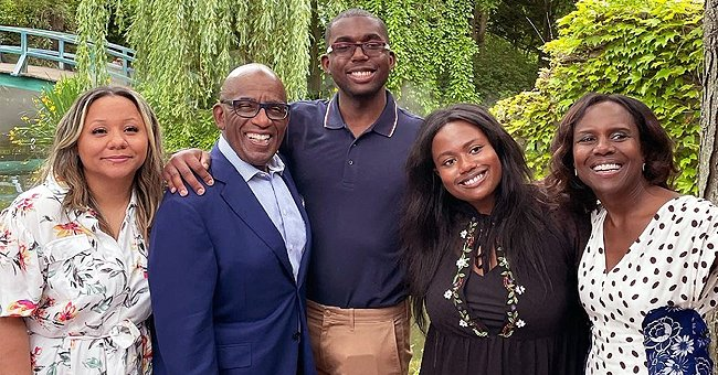 Al Roker, His Wife & Kids Pose in One Last Family Photo with His Single Daughter before Her Wedding
