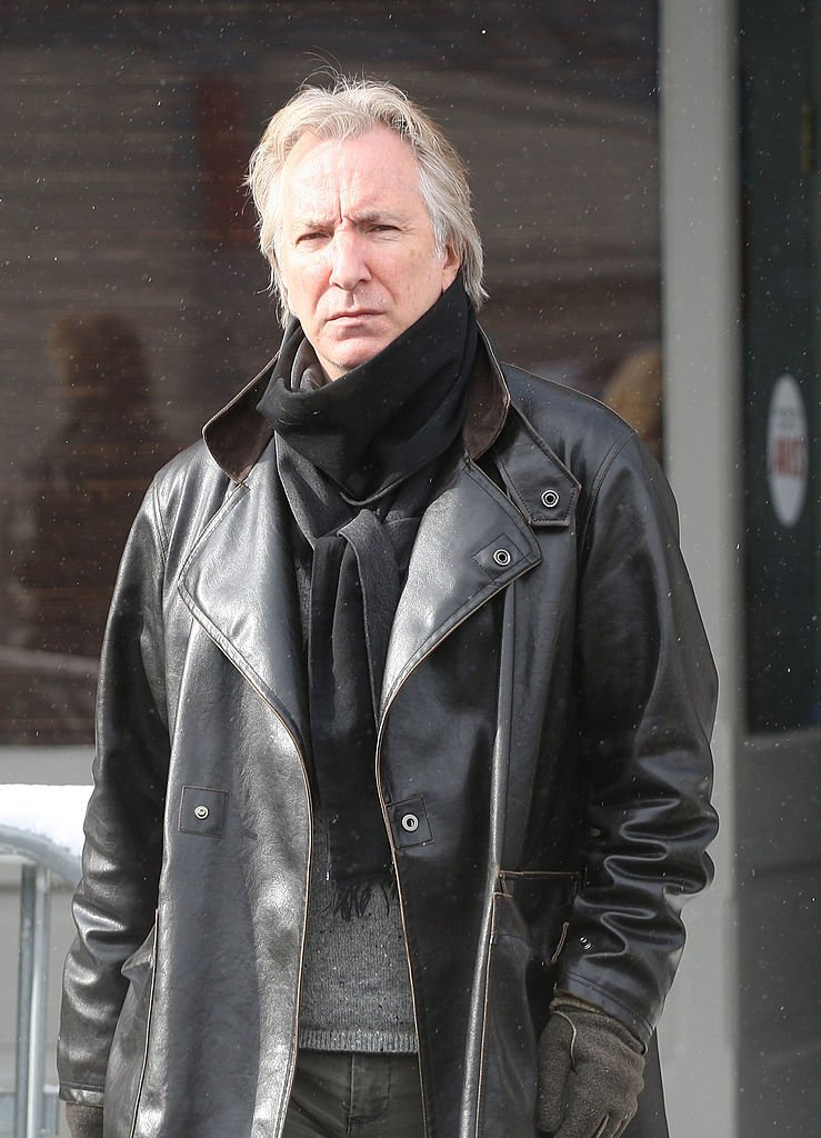 Alan Rickman during the 2008 Sundance Film Festival on January 21, 2008 in Park City, Utah | Photo: Getty Images