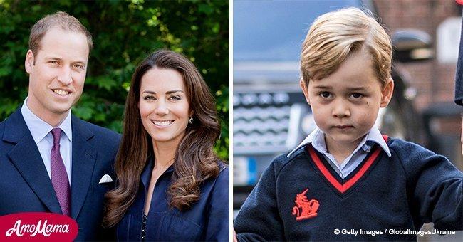 Mirror: Herzogin Kate und Prinz William bewahren ein großes Geheimnis von George, um ihn zu schützen