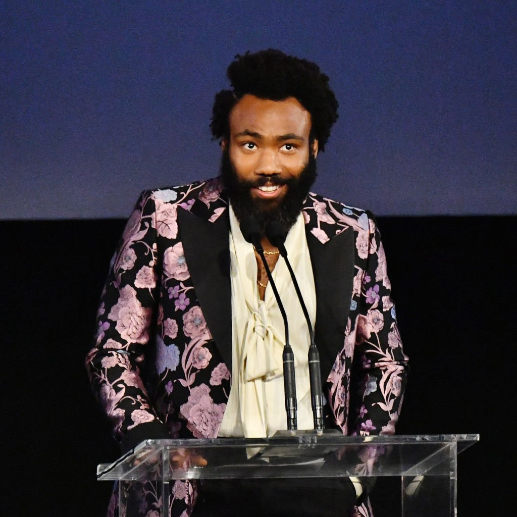 Actor Donald Glover speaks onstage during the 2019 LACMA Art + Film Gala in Los Angeles, California. | Photo: Getty Images