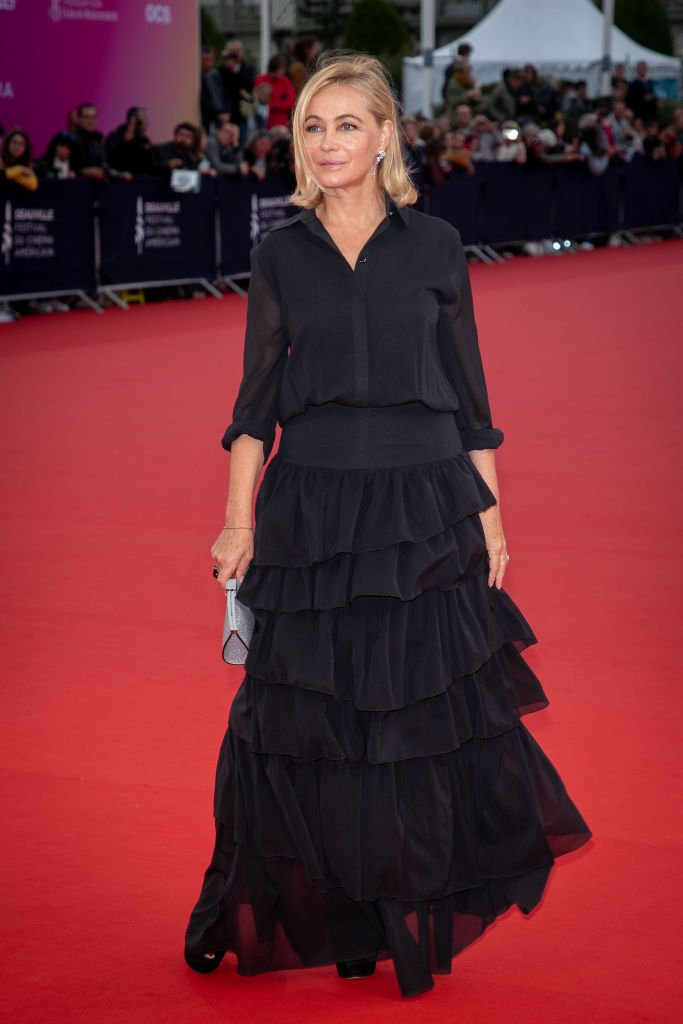 L'actrice Emmanuelle Béart, en 2019 à Deauville. | Photo : Getty Images