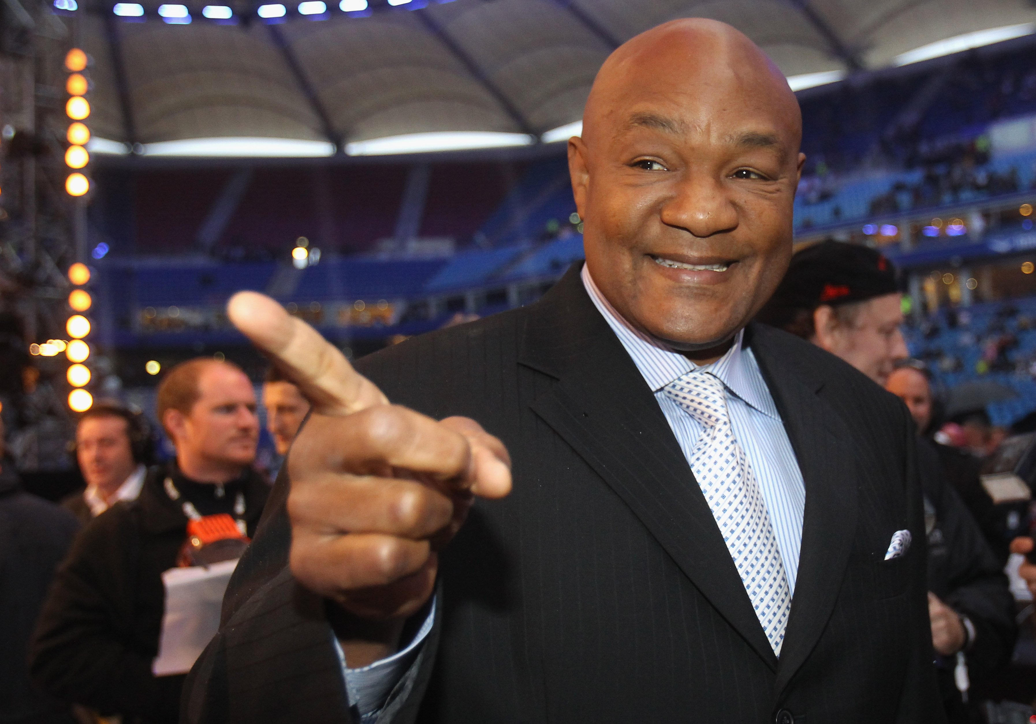 George Foreman at the WBC Heavyweight World Championship match on July 2, 2011 in Hamburg, Germany. | Photo: Getty Images