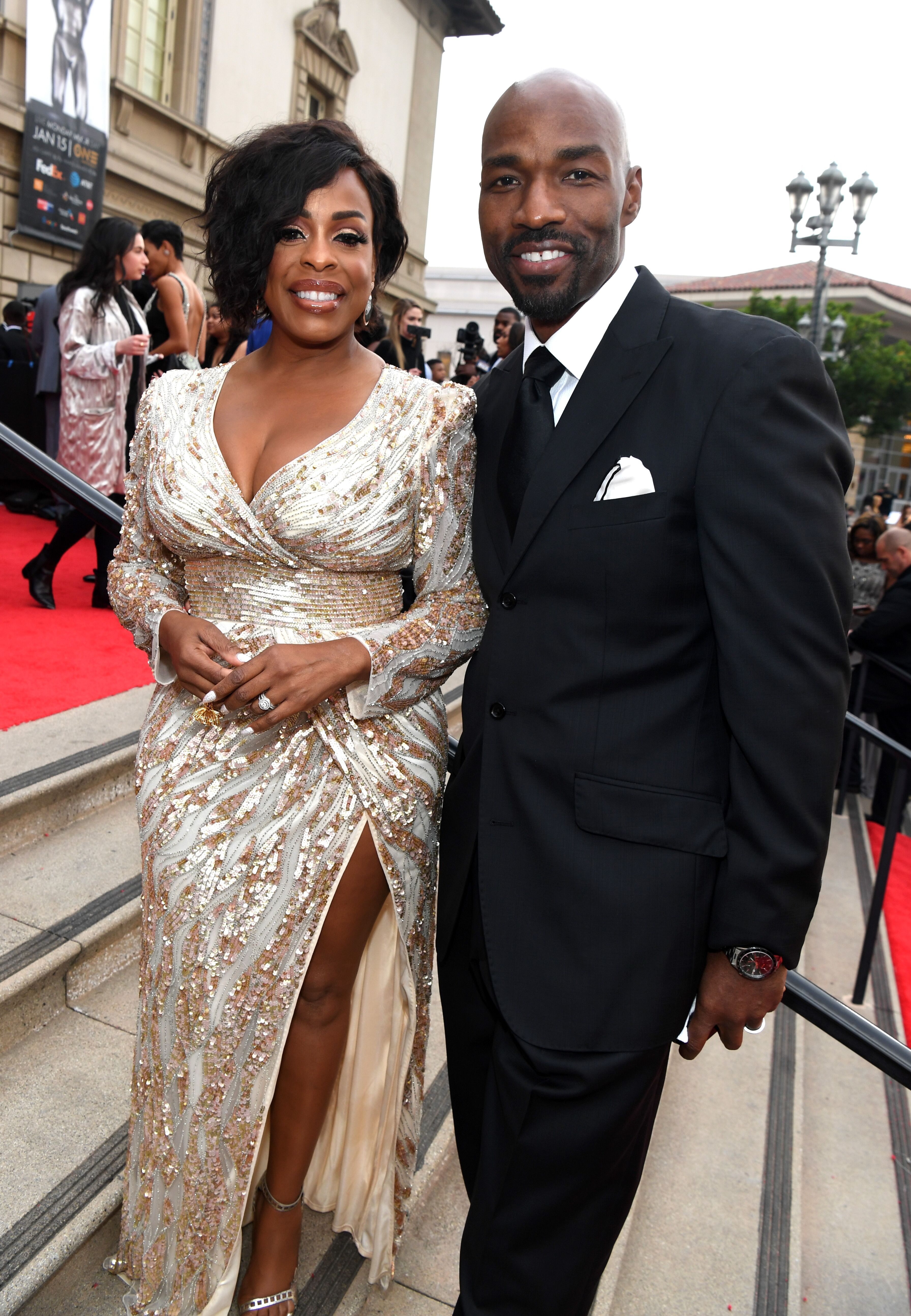 Niecy Nash and Jay Tucker at the 49th NAACP Image Awards in 2018/ Source: Getty Images