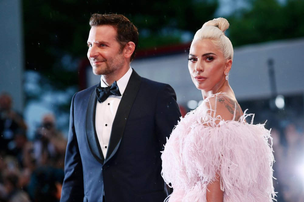 Bradley Cooper and Lady Gaga attend the premiere of the movie 'A Star Is Born' during the 75th Venice Film Festival on August 31, 2018. | Image: Shutterstock.