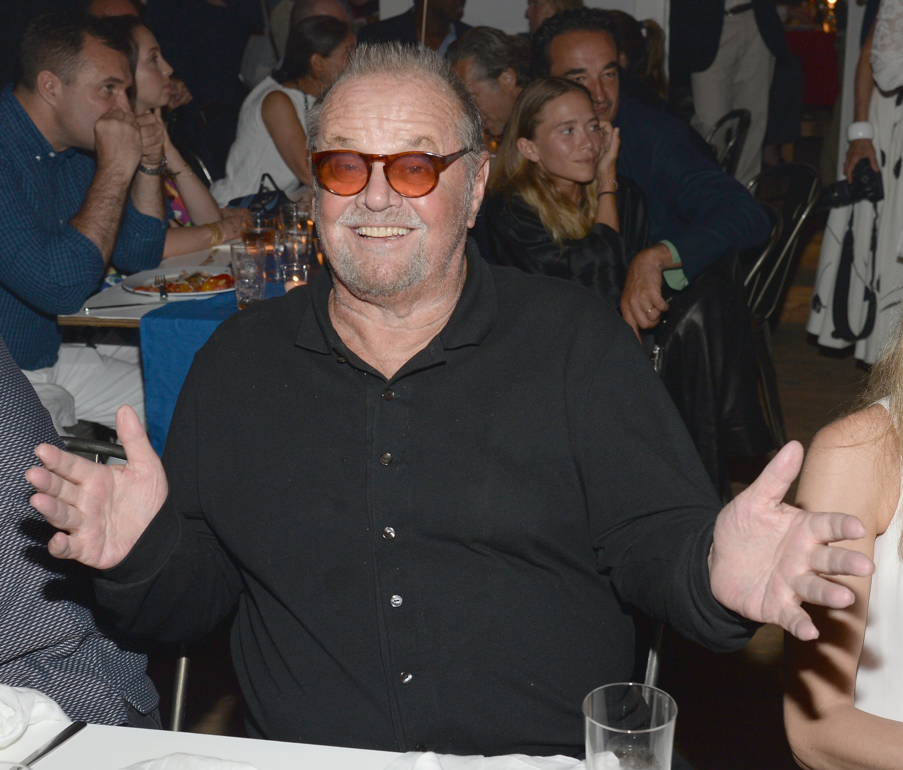 Jack Nicholson attends Apollo in the Hamptons 2015 at The Creeks on August 15, 2015, in East Hampton, New York. | Source: Getty Images.