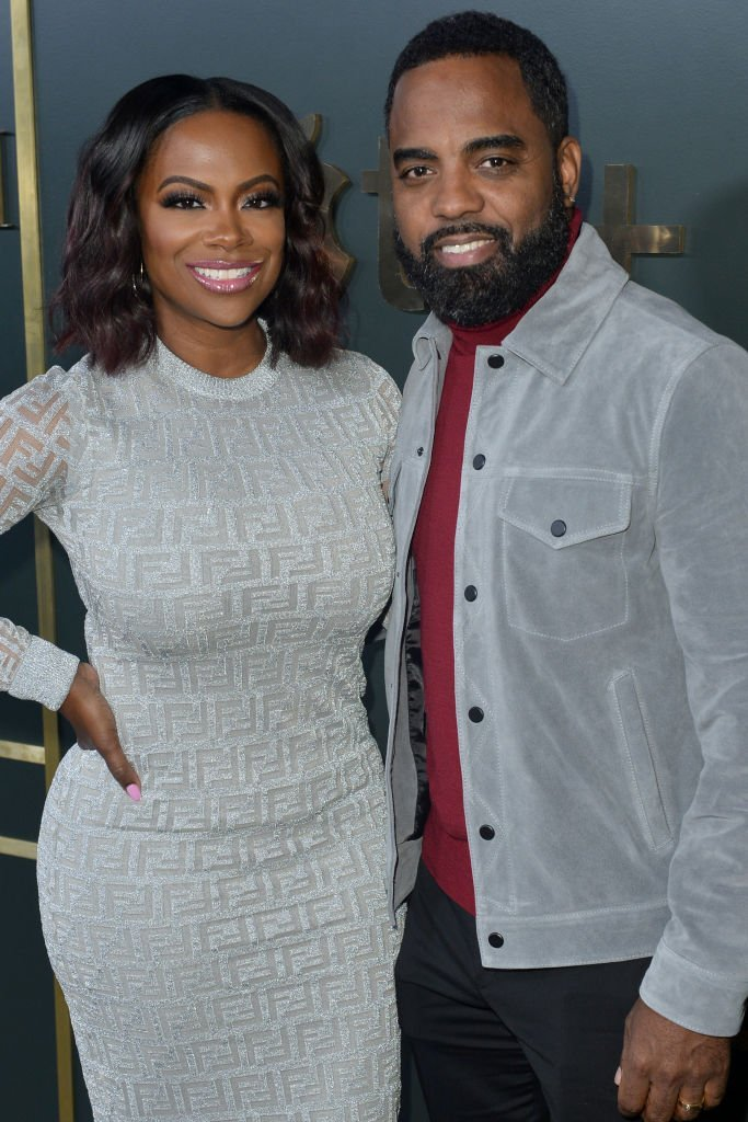 Kandi Burruss and Todd Tucker arrive at the premiere of Apple TV+'s 'Truth Be Told' at AMPAS Samuel Goldwyn Theater | Photo: Getty Images