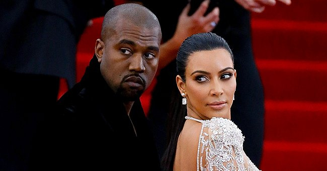 """Kanye West and Kim Kardashian atthe """"China: Through The Looking Glass"""" Costume Institute Benefit Gala on May 4, 2015, in New York City   Photo:Getty Images"""