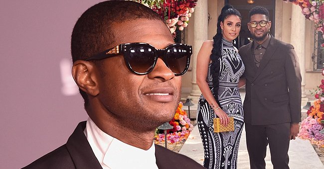 Usher Shares Photos with His Girlfriend & Mom of His Daughter Jenn Goicoechea on Mother's Day