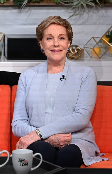 Julie Andrews on October 15, 2019 in New York City. | Photo: Getty Images