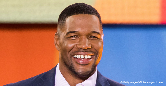 Michael Strahan Shares Adorable Video of Him Dancing with Beautiful Twin Daughters While at Work