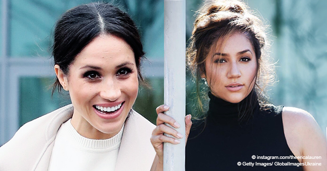 Plus-Size Model Looks so Much like Meghan Markle's Twin Sister – It's Easy to Do a Double Take