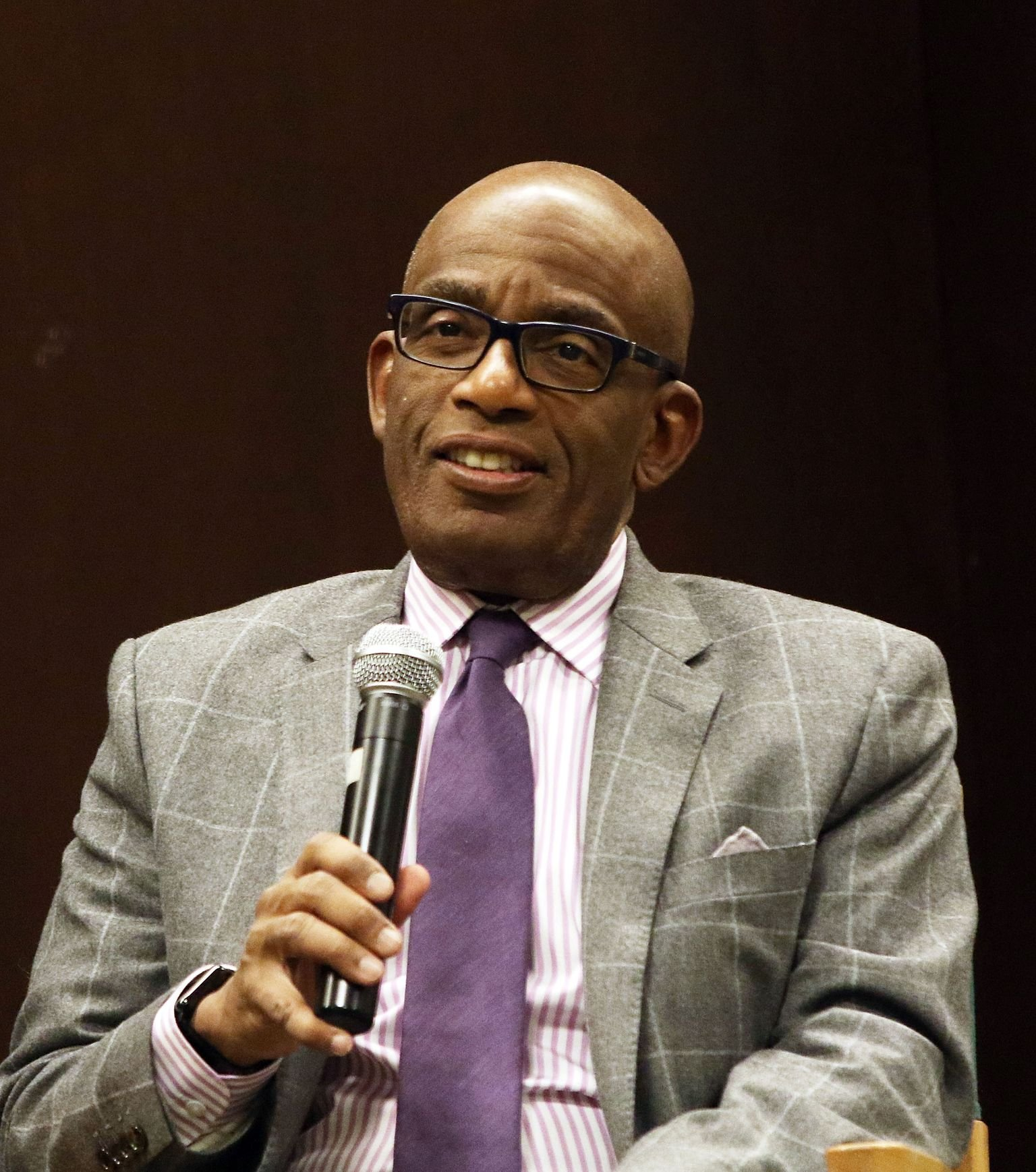 Al Roker promotes his book at Barnes & Noble 82nd Street on January 7, 2016 in New York City   Photo: Getty Images