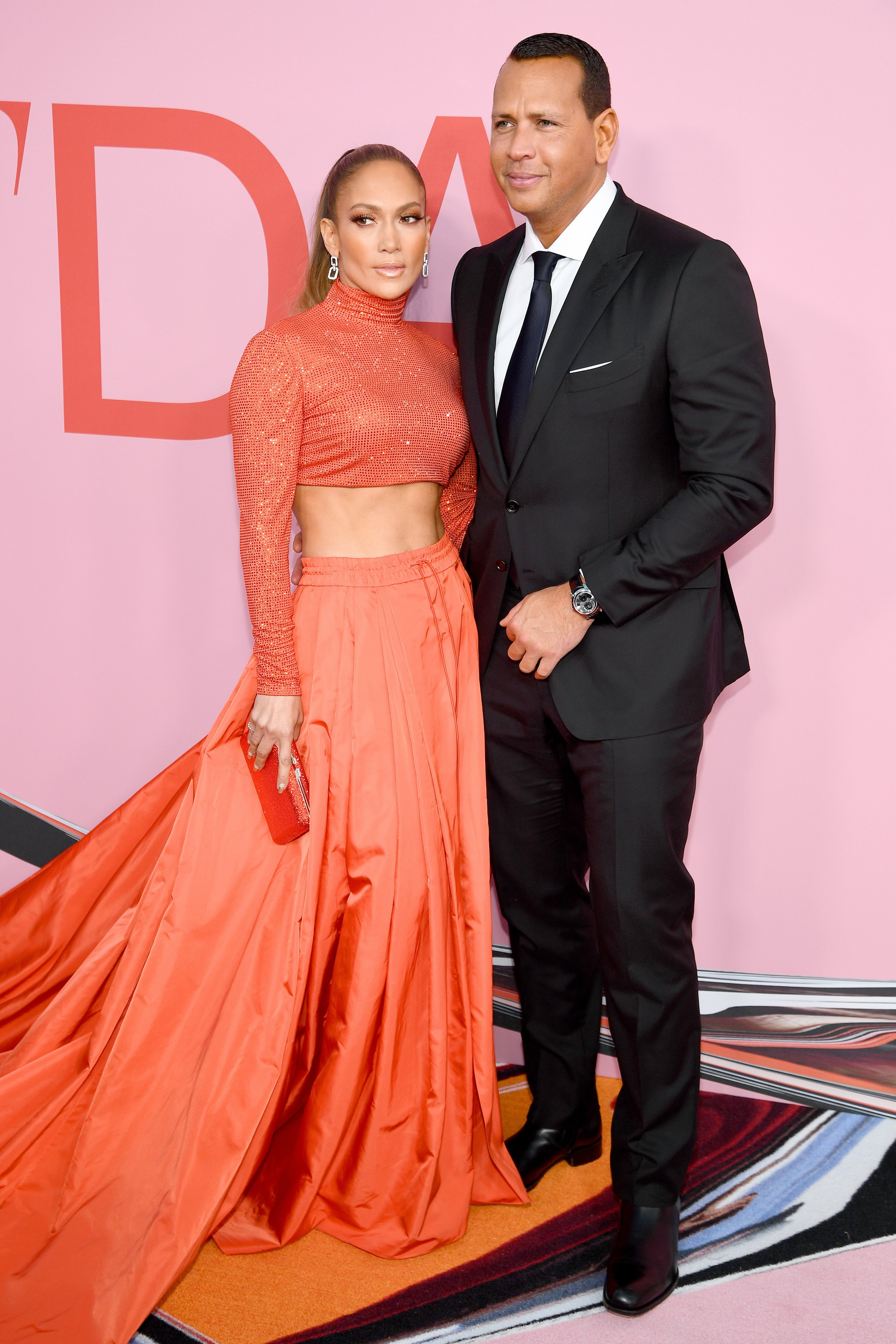 Jennifer Lopez and Alex Rodriguez at the CFDA Fashion Awards on June 03, 2019 in New York City | Photo: Getty Images