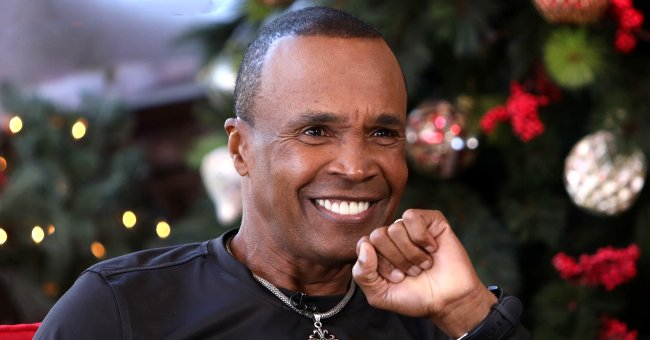 See Rarely-Seen Photo with Sugar Ray Leonard's Son Jarrel Who Is His Spitting Image