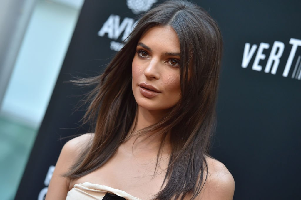 """Model Emily Ratajkowski attends the premiere of """"In Darkness"""" on May 23, 2018, in Hollywood, California. 