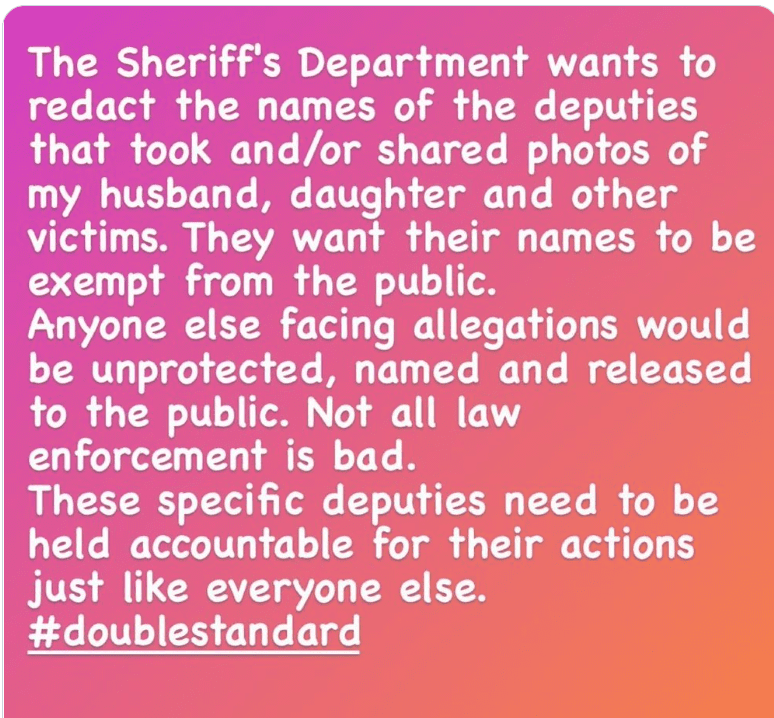 Vanessa Bryant calls for the names of deputies who took and shared photos of the helicopter crash which killed late-husband Kobe Bryant to be released. | Source: Instagram/vanessabryant