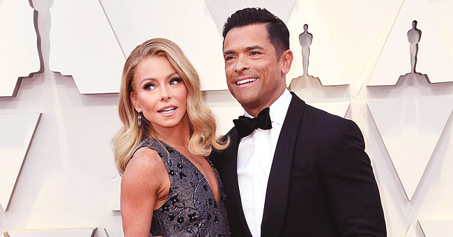 Kelly Ripa of 'Live with Kelly and Ryan' Shares Hot Shirtless Photo of Husband Mark Consuelos with Her in Bed