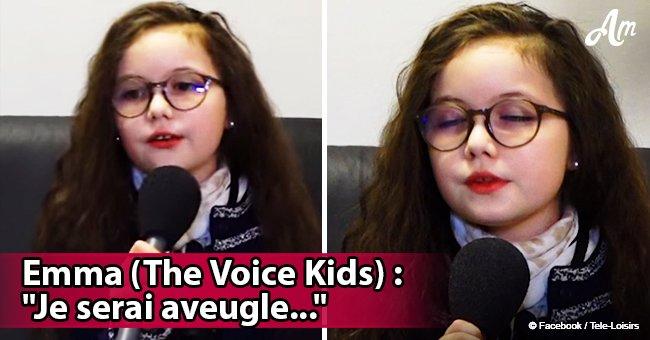 """""""Si la recherche ne trouve rien, je serai aveugle"""": Emma (The Voice Kids) parle de sa maladie"""