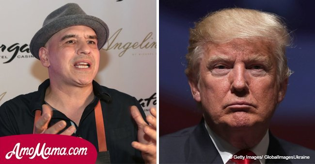 'The Chew' star MIchael Symon expressed his disgust of Donald Trump with another prohibition