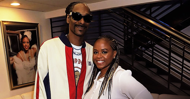 Snoop Dogg's Wife Hides Curves in Tiger Print Swimsuit Cover up in Beach Pics